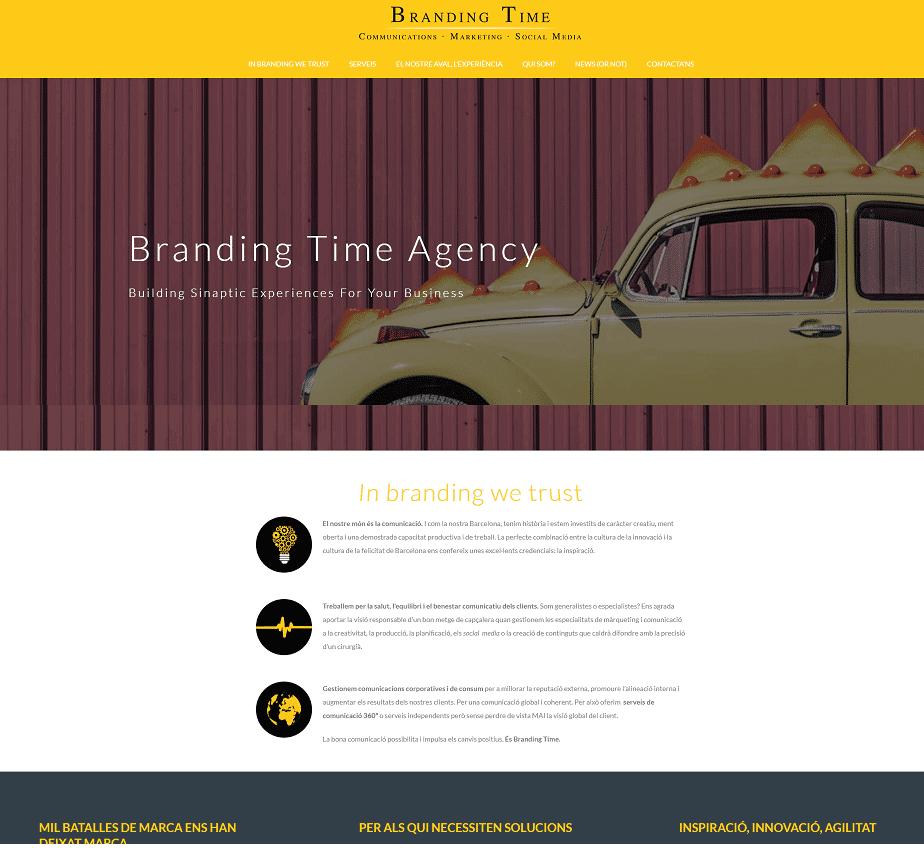 diseño web agencia marketing